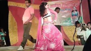 getlinkyoutube.com-हमरे राजाजी दिन के न बोले रतिया में चोली खोले - Bhojpuri Hot Stage show