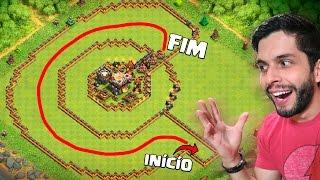 getlinkyoutube.com-LAYOUT TROLL DO CORREDOR INSANO! Clash of Clans