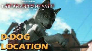 getlinkyoutube.com-Metal Gear Solid 5 Phantom Pain - D-Dog Location / How To Get D-Dog