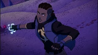 First Young Justice: Outsiders Clip Debuts New Characters - Comic Con 2018