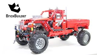 getlinkyoutube.com-Lego Technic 42029 Customized Pick up Truck - Lego Speed build