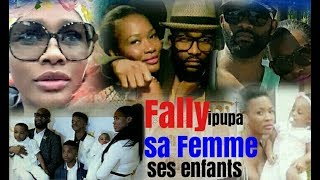 Fally ipupa et sa Femme Nana Ketchup et Ses Enfants (Exclusivité)