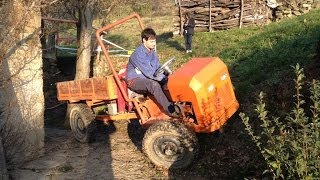 getlinkyoutube.com-Wally.3 homemade tractor from Italy // домашнее трактора из Италии