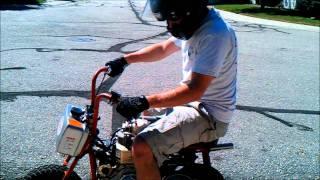 getlinkyoutube.com-Turbo Diesel Mini Bike