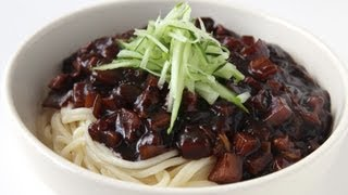 getlinkyoutube.com-Noodles with blackbean sauce (Jjajangmyeon: 짜장면)