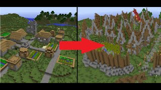 getlinkyoutube.com-Minecraft Let's Build: Let's Transform a Village! - Episode 1