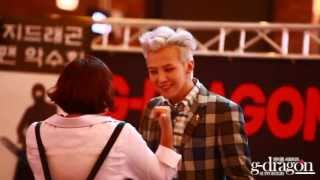 G-Dragon Really  Kind to Fans 2013