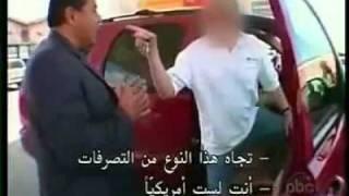 getlinkyoutube.com-كاميرا خفية ردود فعل الأمريكيين حين تهان مسلمة محجبه