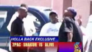 Tupac Shakur Is ALive? (video in Cuba)