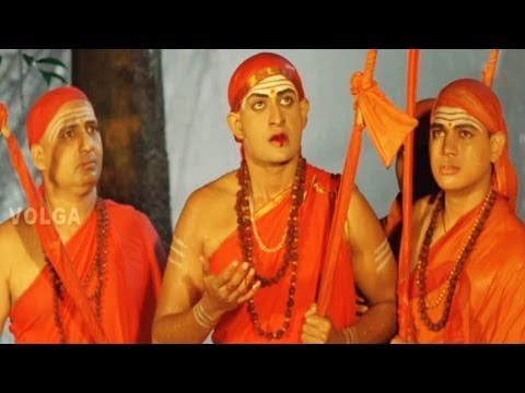Jagadguru Adi Shankara Scenes || Adi Shankara Came To His Mother - Kaushik Babu