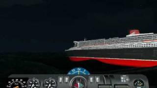 getlinkyoutube.com-Queen Mary 2 sinking