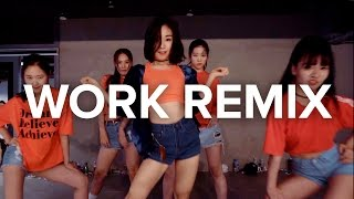 getlinkyoutube.com-Work - Rihanna ft.Drake (R3hab Remix) / May J Lee Choreography