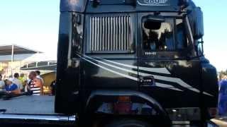 getlinkyoutube.com-Raduno: I giganti del mediterraneo 23/06/ 2013 Circuito del Sele (BATTIPAGLIA)Burnout truck!
