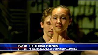 getlinkyoutube.com-15-year-old Arizona girl wows the ballet world