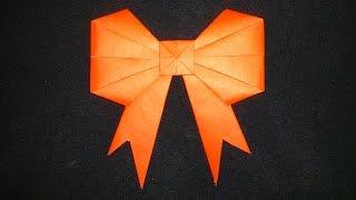 getlinkyoutube.com-Cara Membuat Origami Pita Cantik | Origami Bentuk
