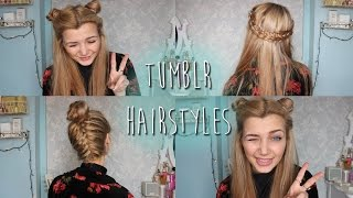 getlinkyoutube.com-☯ Tumblr Inspired Hairstyles ☯