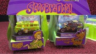 getlinkyoutube.com-Scooby Doo Warner Bros Studio Store Matchbox Collectibles Set From 2000