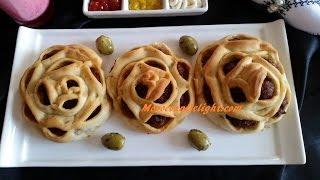 getlinkyoutube.com-Delicious Minced meat pastries - فطائر لذيذة و سهلة التحضير - Pain a la viande hachée