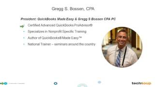 Webinar - QuickBooks 2016 for Existing Nonprofit Users - 2016-03-03