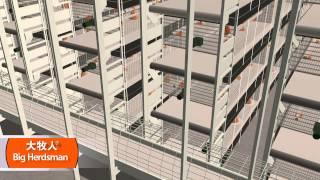 getlinkyoutube.com-Оборудование для клеточного выращивания бройлеров