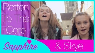 getlinkyoutube.com-Descendants - Rotten to the Core - Cover by 12 year old Sapphire and 10 year old Skye