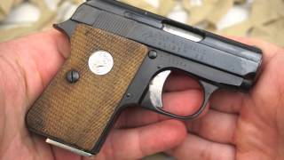 getlinkyoutube.com-Colt Automatic Junior Vest Pocket 25ACP Pocket Pistol Overview - Texas Gun Blog