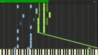 getlinkyoutube.com-NGE - A Cruel Angel's Thesis Synthesia (With Sheets and Midi)