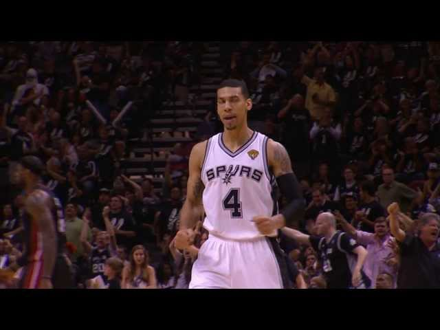 Danny Green's 3 Breaks an NBA Finals Record
