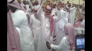 قبيلة حرب فرحة هستيريه بعد إكتمال مبلغ دية خالد الحربي