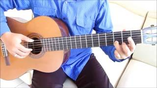 getlinkyoutube.com-Belajar Kunci Gitar Gaby Tinggal Kenangan Intro