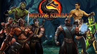 getlinkyoutube.com-Mortal Kombat 9 Komplete Edition - All Costumes / Skins *All Intros* (HD)