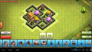 getlinkyoutube.com-Clash of clans- Layout centro de vila nível 4 ( Hibrido )
