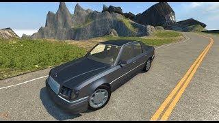 getlinkyoutube.com-BeamNG.Drive Mod : Mercedes-Benz E500 W124 (Crash test)