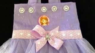 getlinkyoutube.com-COMO HACER BOLSA DE LA PRINCESITA SOFIA/ SOFIA THE FIRST PARTY BAG