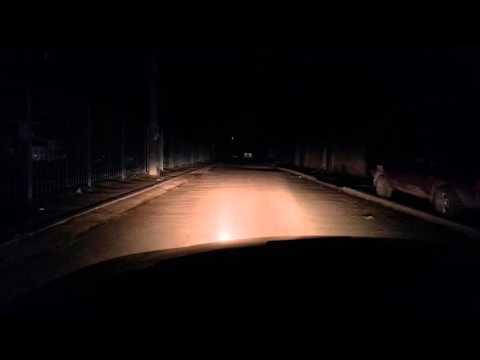 Mazda Xedos 6 . Обзор ближнего света фар, птф и доп. птф .