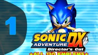 getlinkyoutube.com-Sonic Adventure DX: Director's Cut - *All 130 Emblems* - Part 1: Let There Be Chaos