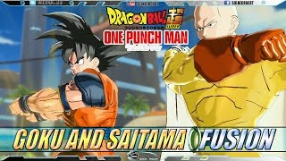 getlinkyoutube.com-Goku and Saitama EX FUSION: Saitoku VS Lord Boros - Dragon Ball VS One Punch Man