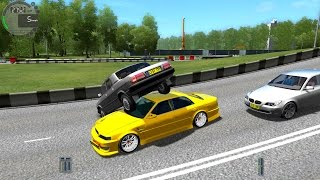 getlinkyoutube.com-City Car Driving 1.4.1 Toyota Chaser V [1080P]