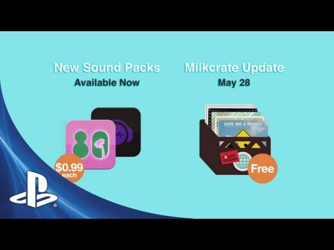 Sound Shapes 80's & Dubstep DLC trailer