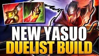 getlinkyoutube.com-NEW YASUO BUILD - Duelist Yasuo - League of Legends