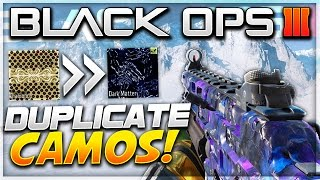 getlinkyoutube.com-Black Ops 3 INSANE Camo Glitch *TUTORIAL* - ANY Black Market/GOLD & Diamond CAMO! (BO3 Multiplayer)