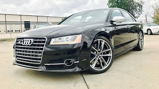 605HP!! 2017 Audi S8 Plus 4.0T Full Review / Exhaust / Start Up /Short Drive