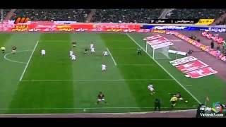 getlinkyoutube.com-Persepolis vs Ac Milan Glorie match گل های بازی پرسپولیس و آث میلان