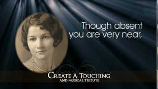 getlinkyoutube.com-Memorial Presentations and Funeral Tributes by Memory Magic