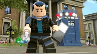 getlinkyoutube.com-LEGO Dimensions - Ninth Doctor (Christopher Eccleston) Free Roam Gameplay