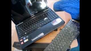getlinkyoutube.com-Toshiba Keyboard Replacement - Satellite Laptop