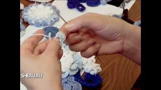 getlinkyoutube.com-Вязание крючком в технике Фриформ - Crochet in the technique friform