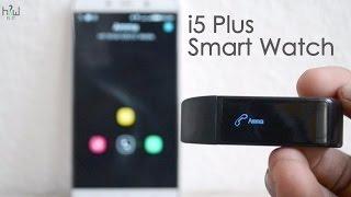 getlinkyoutube.com-i5 Plus Smart Watch Unboxing & Review - Best Smart Band - just 20$ ?