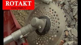 getlinkyoutube.com-Discuri si cutite de defrisat Rotakt pentru motocoase