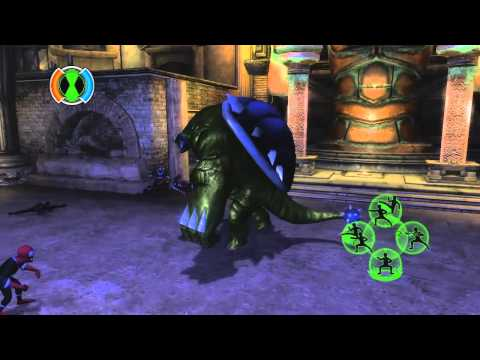Ben 10 Ultimate Alien Cosmic Destruction - Starting Block -